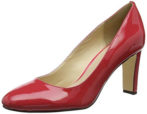 Buffalo Women's Ls80437-9c Patent Closed Toe Heels Red (Red 000) VtumDcK0F