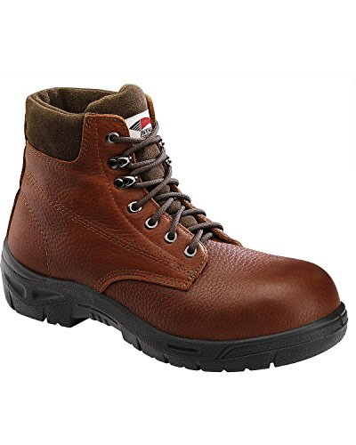 UPC 617420006699, Avenger Safety Footwear Men's A7211 Steel Toe Boot,Brown,8.5 M US