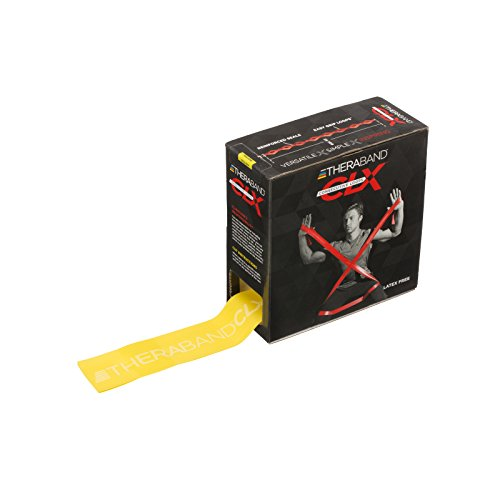 TheraBand CLX Resistance Band with Loops, Fitness Band fo...
