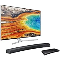 UN55MU9000 Curved 55-Inch 4K UHD TV Home Theater Bundle with Sound+ Curved Soundbar