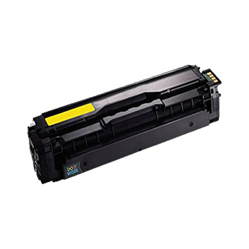 Do it Wiser ® Remanufactured Yellow Toner For Samsung CLP-415 CLP-415N CLP-415NW CLX-4195FW CLX-4195N CLP-470 CLP-475 CLX-4170 - CLT-Y504S - Yield 1,800 pages