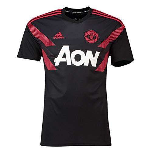 (adidas 2018-2019 Man Utd Pre-Match Training Football Soccer T-Shirt Jersey)