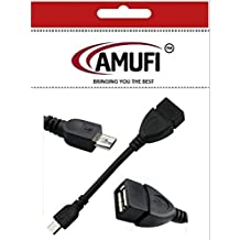 Micro USB on the Go OTG Cable for Nexus 7 / Nexus 7 2 Ii / Nexus 10 / Samsung Galaxy S / S2 / S3 / S4 / S5 / Samsung N7000 /Archos G9 80 Tablet / Archos A70 Tablet / Nikon D90 / Xoom / Toshiba Tg01 / Nokia N810 / N900 / HTC ONE / Galaxy Note 8.0 Galaxy Note 10.1 2014 Edition /Moto G Phone / Tesco Hudl 7