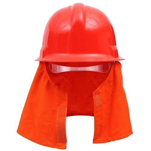 KKmoon Casco de seguridad contra incendios casco casco descarga eléctrica Prevención de incendios seguridad ignífuga Pierce resistencia; Casco para la lucha ...