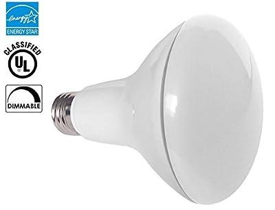 6 PACK - BR30 LED 11WATT (65W Equivalent), 2700K Warm White, DIMMABLE, Indoor/Outdoor Lighting, 850 Lumens, Flood Light Bulb, UL & ENERGY STAR LISTED