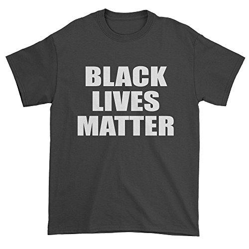 Mens Black Lives Matter T-Shirt XX-Large Black