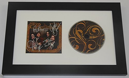The Raconteurs Broken Boy Soldiers Group Signed Autographed Music Cd Cover Compact Disc Framed Display Loa