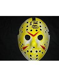 KANE HODDER Signed Hockey Mask Jason Voorhees Friday the 13th