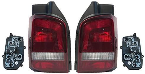 Rückleuchte Heckleuchte Rücklicht Li Re Set Lampenträger T5 Multivan Getönt Auto