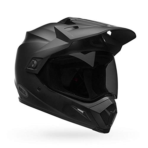 Bell MX-9 Adventure DLX MIPS Full-Face Motorcycle Helmet (Matte Black, Medium)