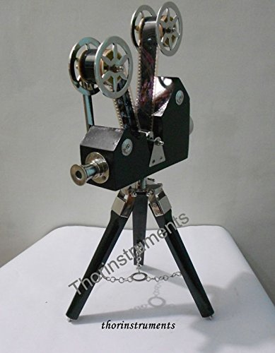 THORINSTRUMENTS (with device) Vintage Designer Wooden Camera Projector with Black Tripod Retro Look Nautical by THORINSTRUMENTS (with device) (Image #4)