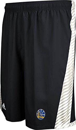 NBA Golden State Warriors Men's Full Color Logo Shorts, Black, XX-Large