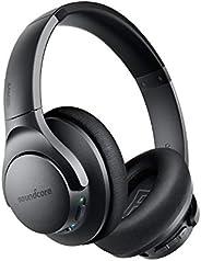 Anker Soundcore Life Q20 Hybrid Active Noise Cancelling Headphones, Wireless Over Ear Bluetooth Headphones, 40