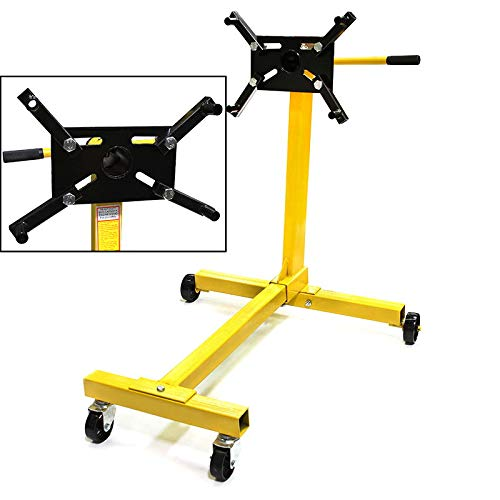 - Stark Engine Hoist Stand Motor Auto Engine Automotive Jack Rotating Head Motor Stand 1000LBS Capacity