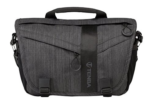 Tenba Messenger DNA 8 Camera and iPad Mini Bag - Graphite (638-421) by Tenba