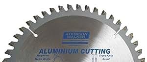 ATKINSON WALKER–Hoja de sierra circular para aluminio (216mm 48puntas corte uso GENERAL