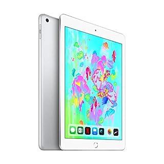 Apple iPad 9.7 inches (Early 2018) 32GB, WiFi + 4G LTE - Silver (Renewed)