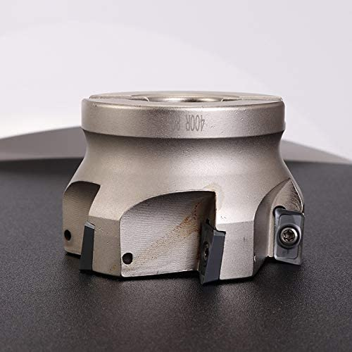 HWW-Drills, 1pc BAP300R40-22-4T BAP400R50-22-4T Milling Tools Metal Cutter Plate Four Insert Clamped Milling Cutter End Mill Shank (Size : BAP400R63 22 4T)