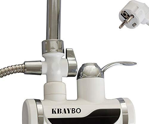 3000 W Calentador de Agua El/éctrico Inmediato del Grifo de la Ducha Grifo de la Cocina del Calentador de Agua Caliente