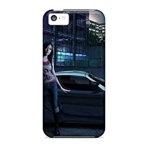 Tpu Fashionable Design Need For Speed Carbon Girl Rugged Case Cover For Iphone 5c New
