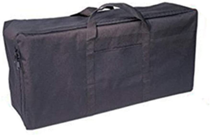 Black soldbbq 16.5 H x 34.5 L x 9 D Outdoor Carry Bag for CAMP CHEF by BB60X and Double Burner Cookers