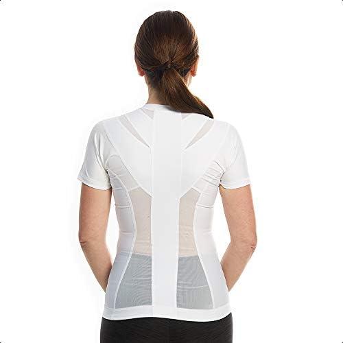 Anodyne Posture Shirt 20 Zipper met ritsVrouwenHouding Correctie ShirtHoudingscorrector TshirtPostuur Corrector voor Spieractivering Rugondersteuning