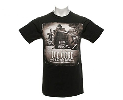 Offizielle Ice Cube – I Am The West – Herren Baumwolle T Shirt