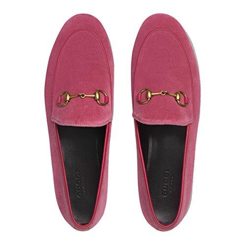 Gucci Femme 431467K4dd05590 Rose Velours Mocassins  Amazon.fr  Chaussures  et Sacs c00d02442a6