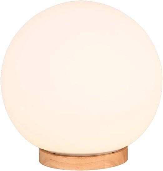 Lámparas de Escritorio Lámpara de Mesa de la Bola Blanca Creativa ...