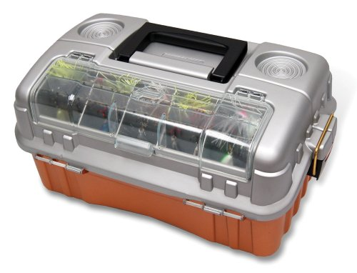 Plano 7603 Flip Sider Three Tray Tackle Box, Outdoor Stuffs