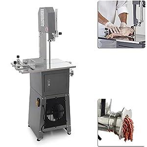 550W 3/4HP Stand Up Butcher Meat Band Saw & Grinder Sausage Stuffer Maker Mincer