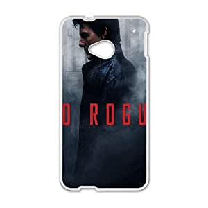 HTC One M7 Cell Phone Case White hf97 go rogue tom cruise poster film art LV7030981