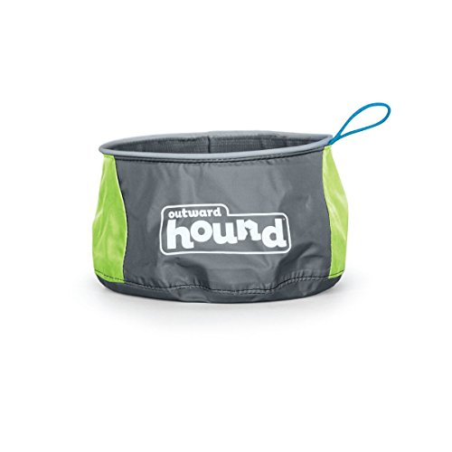 - Kyjen Outward Hound Port A Bowl (48 oz) Medium Blue