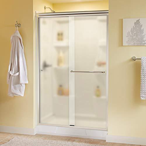 Delta Shower Doors SD3956944 Classic Semi-Frameless Traditional Sliding Shower 48
