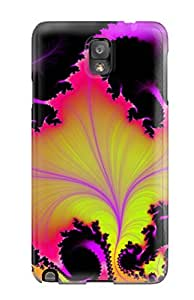 Art Marie Johnson Premium Protective Hard Case For Galaxy Note 3- Nice Design - Fractal