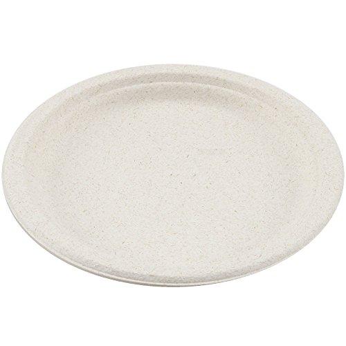 """Perfect Stix Sugarcane Plate 9-50ct 9"""" Sugarcane Disposab..."""