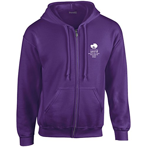 Sweet blanc Sweat That Style Violet Brand88 Capuche My Capuchon And À PWtTnRa