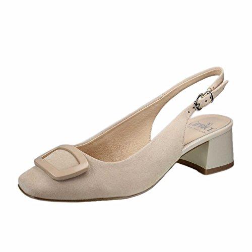 de075a03247e Caprice 92950028404 Zapatos de vestir de Piel para mujer Beige ...