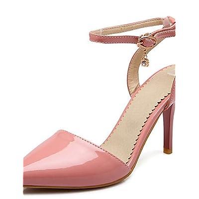 Ggx/femme Chaussures Stiletto Talon Bout Pointu Talon Sangle de cheville Pompe à Plus de couleur disponibles