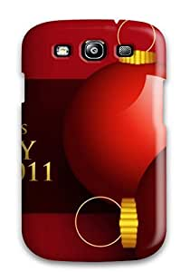 New Premium CaseyKBrown 2011 Happy New Year & Christmas Skin Case Cover Excellent Fitted For Galaxy S3