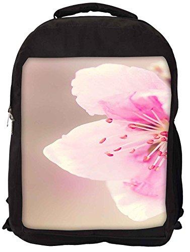 Snoogg girly rosa Blume Laptop Rucksack Gelegenheitsschulrucksack JwVldWm
