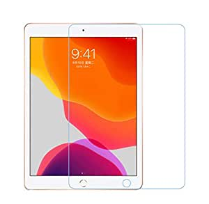 Clear Tempered Glass Screen Protectors for iPad 7th Generation 10.2inch 2019