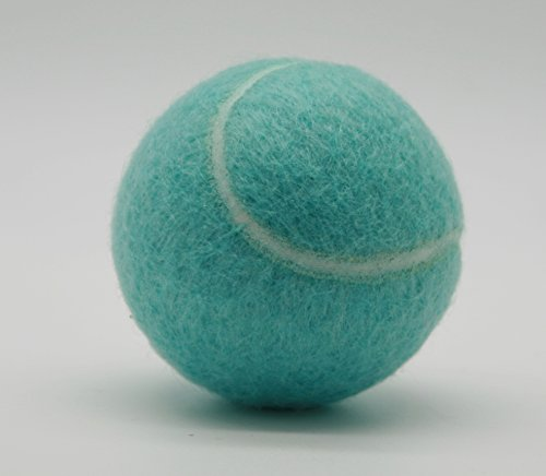 (Price's Pastel Color Type 2 Tennis Balls Made in the UK (3 x Bahama Blue) pressureless, durable and long lasting.)