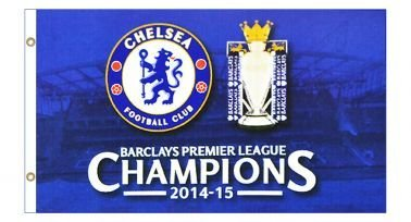 超格安価格 Chelsea FC 2015 2015 Flag Premier League Champions Flag FC B00ZD2YW86, 坂北村:9d3abb98 --- domaska.lt