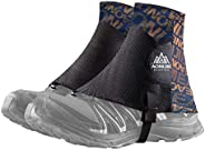 Azarxis Low Trail Gaiters Reflective Ankle Gators Protective Shoe Covers with UV Protection & Breathable &