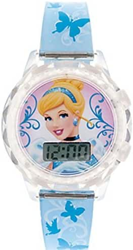 Disney Princess Cinderella Girls Trendy Fashion Accessory 7' LCD Watch! Batteries Included!