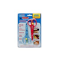 Tiny Bites Food Shears Blue/Red 2.0 a by Tiny Bites