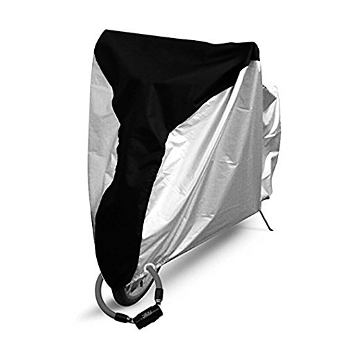 Yougai Bike Cover Outdoor Bicycle Cover Waterproof Dust Wind Proof with Lock Hole, Road Bike, Mountain Bike by Yougai