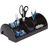 Desk Organizer with Sliding Middle Section, Home...