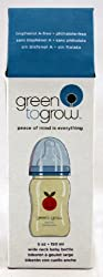 Green to Grow - 5 Oz Wide Neck BPA Free Bottle